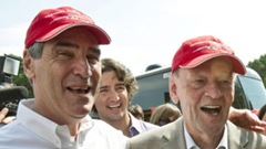 Ignatieff with Chrétien
